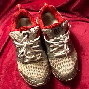 K Swiss 9.5 sneakers plus a free pair
